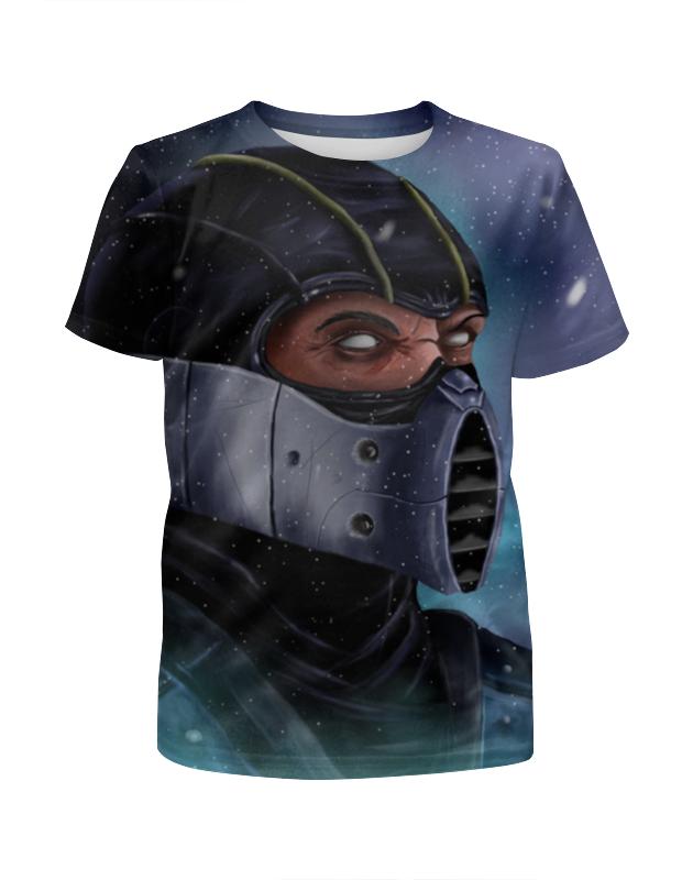 Футболка с полной запечаткой для девочек Printio Mortal kombat футболка с полной запечаткой для девочек printio spawn