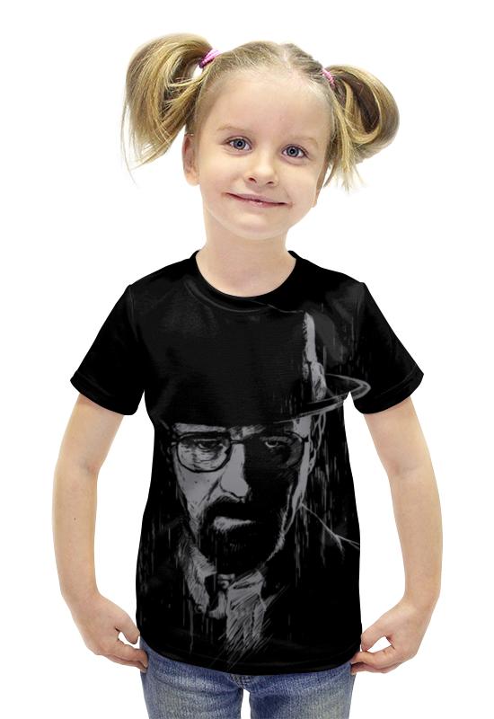 Футболка с полной запечаткой для девочек Printio Heisenberg футболка с полной запечаткой для девочек printio spawn