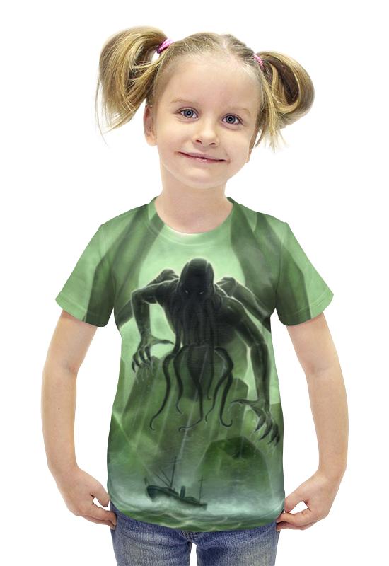 Футболка с полной запечаткой для девочек Printio Ктулху / cthulh футболка с полной запечаткой для девочек printio война миров z