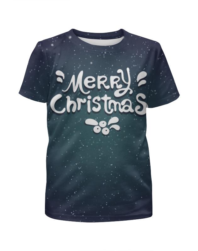 Футболка с полной запечаткой для девочек Printio Merry christmas футболка с полной запечаткой для девочек printio spawn