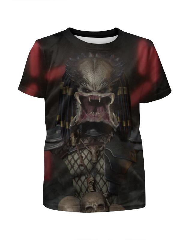 Футболка с полной запечаткой для девочек Printio Хищники / predator футболка с полной запечаткой мужская printio хищники predator