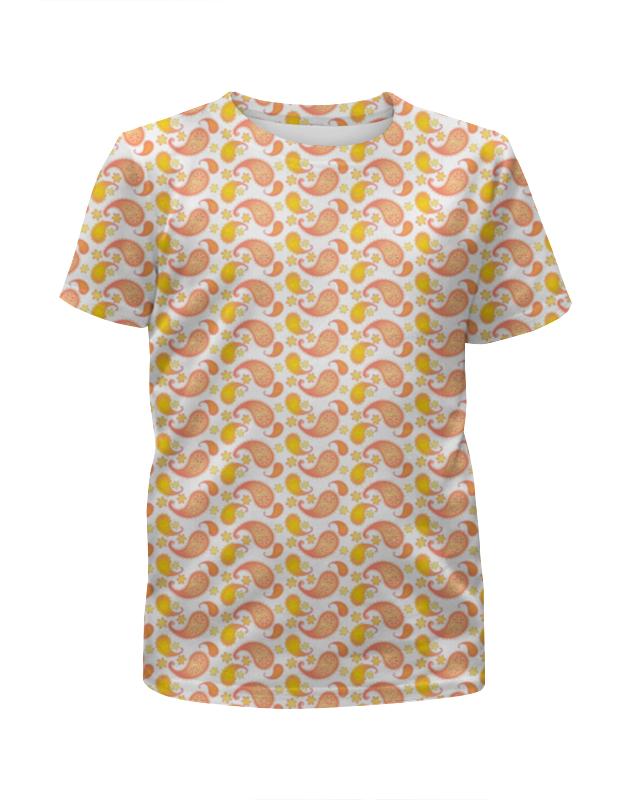 Printio Пейсли розово-желтый (для девочки)