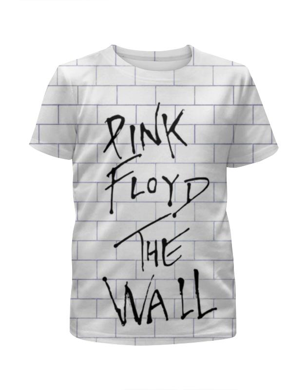 Футболка с полной запечаткой для девочек Printio Pink floyd the wall pink floyd meddle a classic album under review