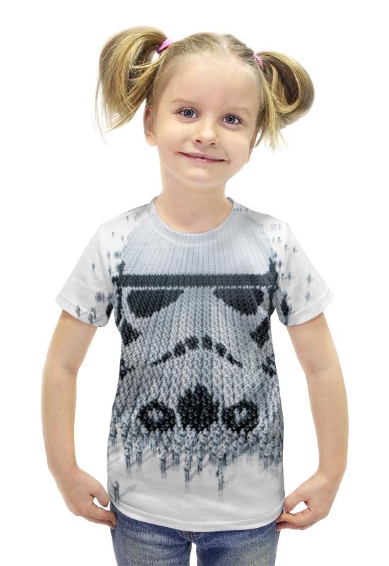 Футболка с полной запечаткой для девочек Printio Штурмовики футболка с полной запечаткой для девочек printio пртигр arsb