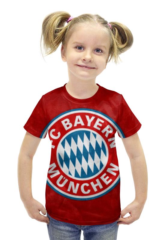 Футболка с полной запечаткой для девочек Printio Бавария мюнхен круизная яхта бавария продам чф