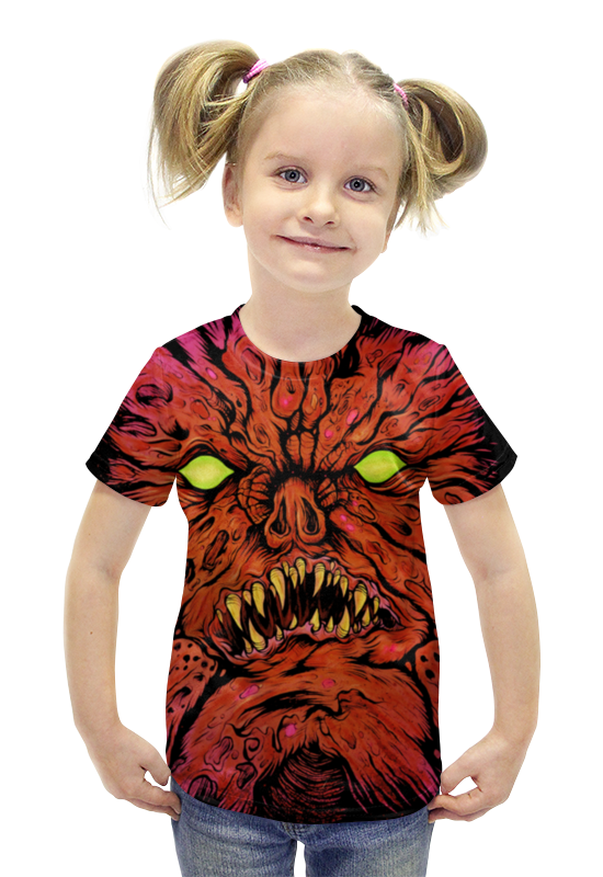 Футболка с полной запечаткой для девочек Printio Necronomicon футболка с полной запечаткой для девочек printio пртигр arsb