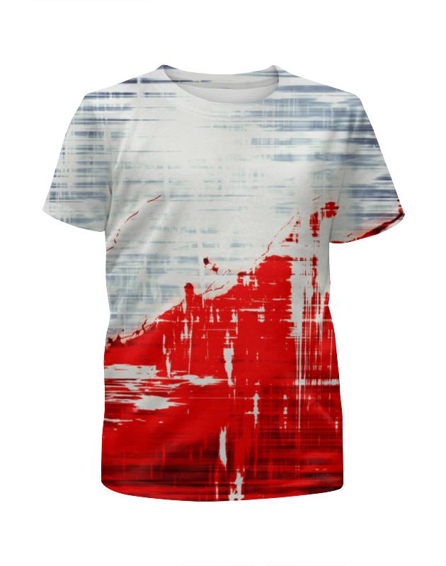 Футболка с полной запечаткой для девочек Printio Пятна краски футболка с полной запечаткой для девочек printio моряк попай