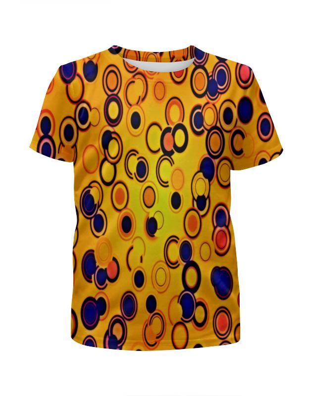 Футболка с полной запечаткой для девочек Printio Шары цветные футболка с полной запечаткой женская printio воздушные шары