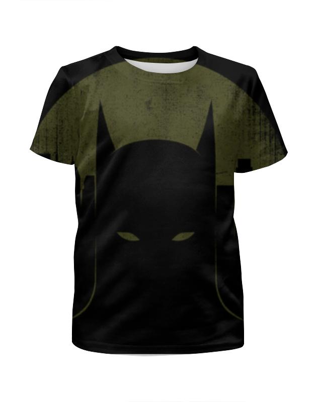 Футболка с полной запечаткой для девочек Printio Бэтмен футболка с полной запечаткой для девочек printio жан рено леон