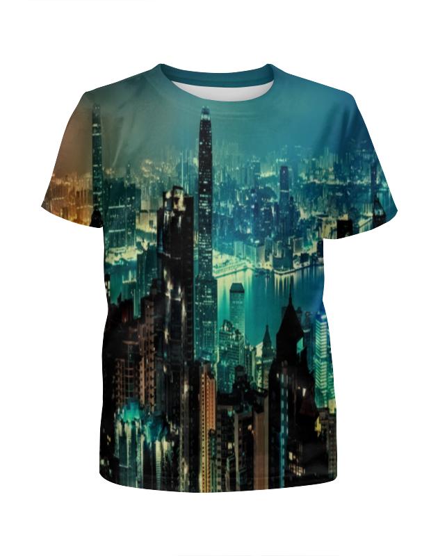 Футболка с полной запечаткой для девочек Printio New york футболка с полной запечаткой для девочек printio дайвинг