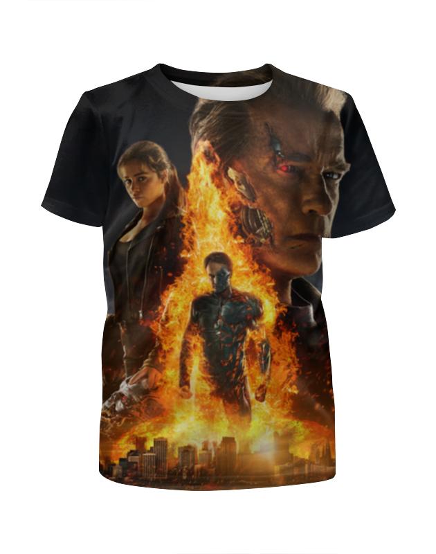 Футболка с полной запечаткой для девочек Printio Terminator футболка с полной запечаткой для девочек printio волгоградская область