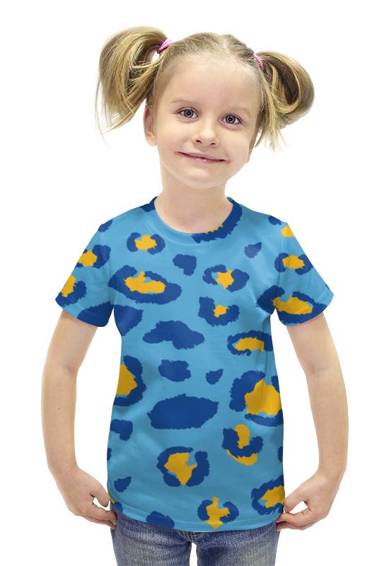Футболка с полной запечаткой для девочек Printio Леопардовый футболка с полной запечаткой для девочек printio пртигр arsb