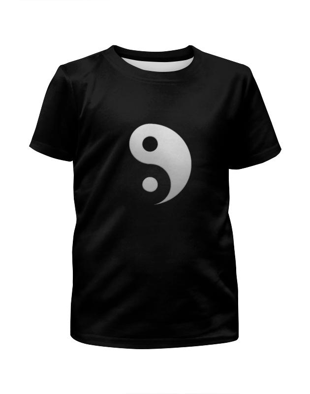 Футболка с полной запечаткой для девочек Printio Инь янь футболка с полной запечаткой мужская printio инь ян