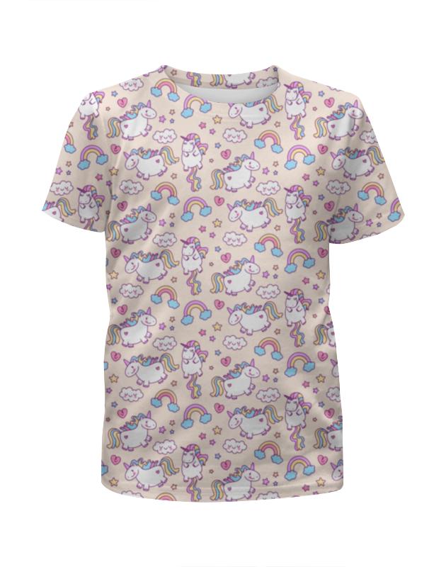 Футболка с полной запечаткой для девочек Printio Единороги футболка с полной запечаткой для девочек printio единороги