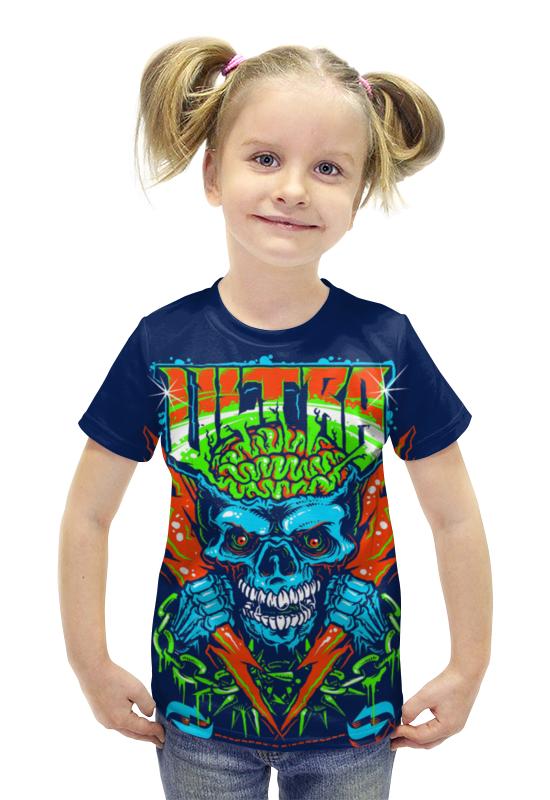Футболка с полной запечаткой для девочек Printio Ultra футболка с полной запечаткой для девочек printio spawn