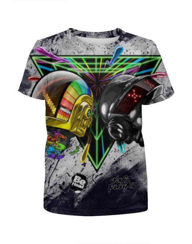 Футболка с полной запечаткой для девочек Printio Daft punk футболка с полной запечаткой для девочек printio daft punk