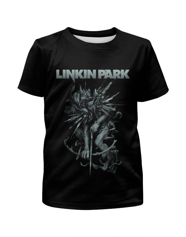 Футболка с полной запечаткой для девочек Printio Linkin park футболка с полной запечаткой для девочек printio spawn