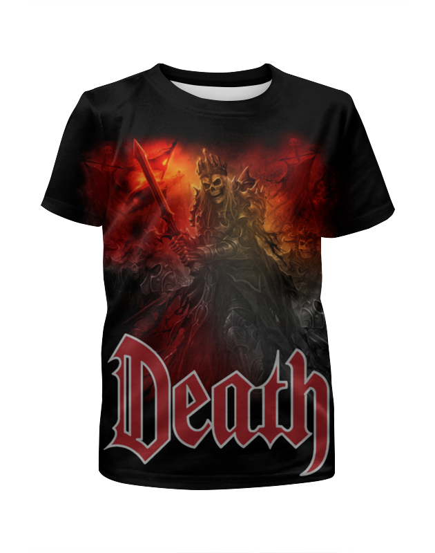 Printio Death art футболка с полной запечаткой для девочек printio death trooper