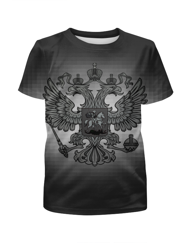 Футболка с полной запечаткой для девочек Printio Россия футболка с полной запечаткой printio москва россия