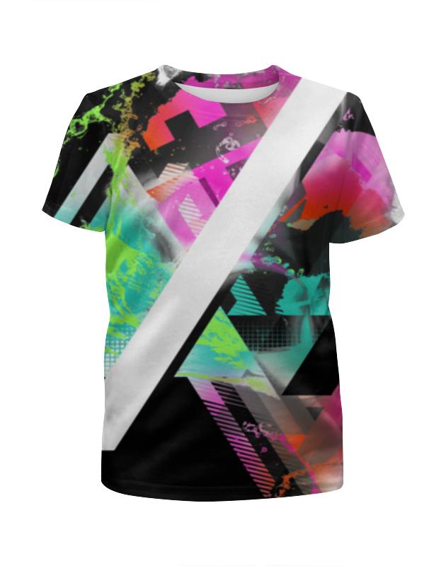 Футболка с полной запечаткой для девочек Printio Graphic design футболка с полной запечаткой для девочек printio spawn