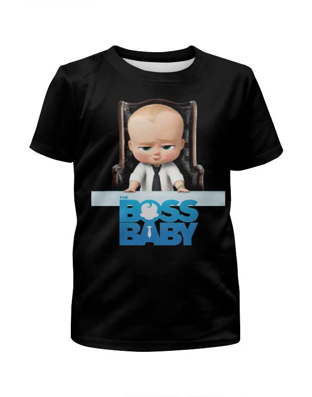 Футболка с полной запечаткой для девочек Printio Босс-молокосос / the boss baby босс молокосос blu ray 3d