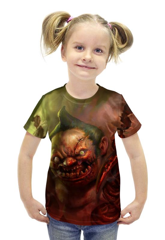 Футболка с полной запечаткой для девочек Printio Пудж мясник (dota 2) футболка с полной запечаткой для девочек printio dota 2 ember spirit