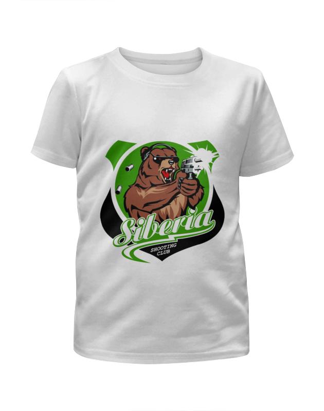 Футболка с полной запечаткой для девочек Printio Сибирь футболка это мать сибирь