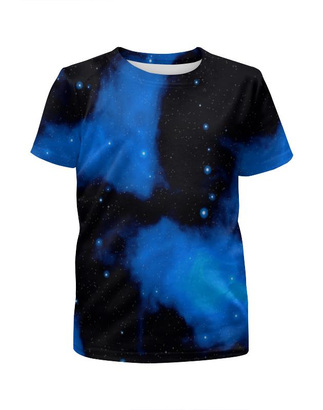 Футболка с полной запечаткой для девочек Printio Звездное небо платье летнее printio звездное небо