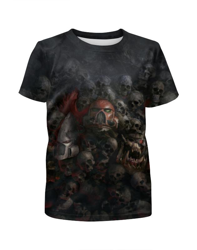 Футболка с полной запечаткой для девочек Printio Dawn of war футболка с полной запечаткой мужская printio war master