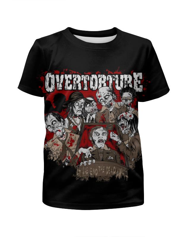 Футболка с полной запечаткой для девочек Printio Overtorture футболка с полной запечаткой для девочек printio жан рено леон