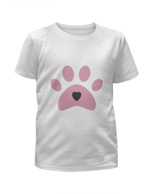 Футболка с полной запечаткой для девочек Printio След собаки футболка с полной запечаткой для девочек printio собаки и кролики