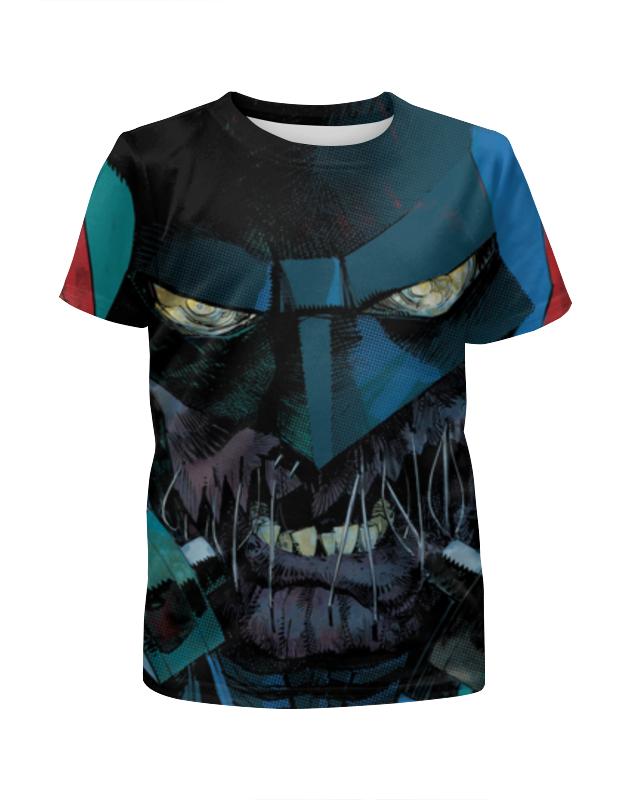 Футболка с полной запечаткой для девочек Printio Бэтмен футболка с полной запечаткой для девочек printio бэтмен batman
