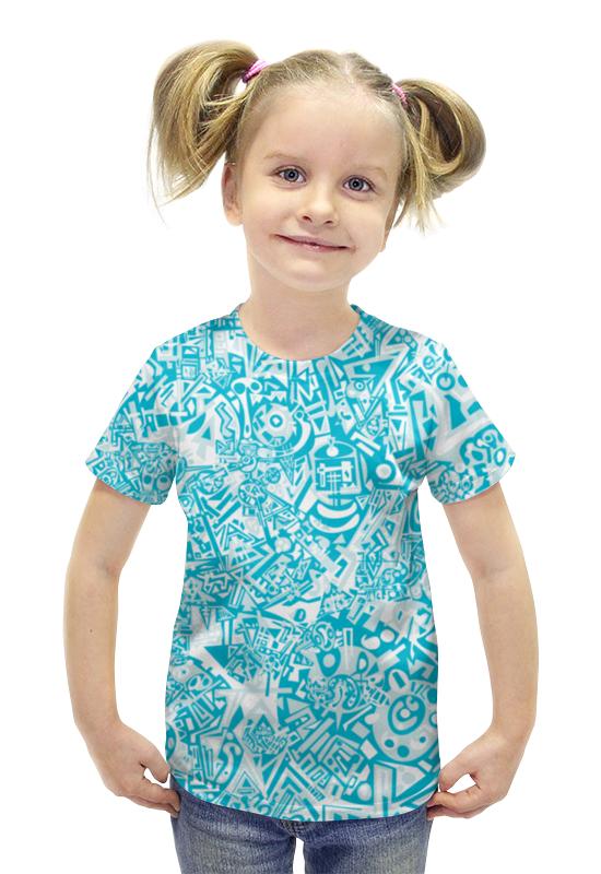 Футболка с полной запечаткой для девочек Printio Ccddmvbh523 футболка с полной запечаткой для девочек printio пртигр arsb