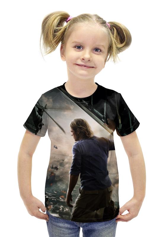 Футболка с полной запечаткой для девочек Printio Война миров z футболка с полной запечаткой printio война миров z