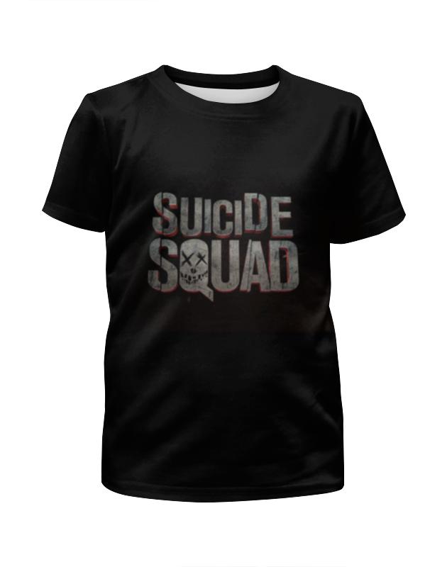 Футболка с полной запечаткой для девочек Printio Отряд самоубийц футболка с полной запечаткой для девочек printio третий лишний