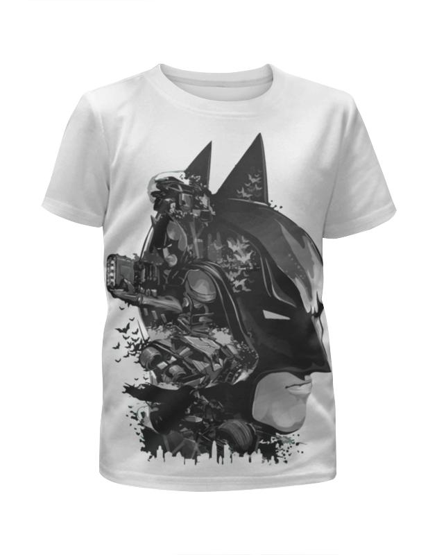 Футболка с полной запечаткой для девочек Printio Бэтмен (batman) футболка с полной запечаткой для девочек printio бэтмен batman