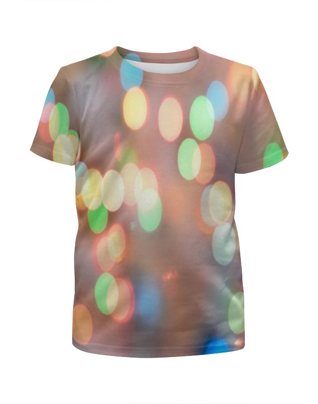 Футболка с полной запечаткой для девочек Printio Блики света футболка с полной запечаткой мужская printio блики