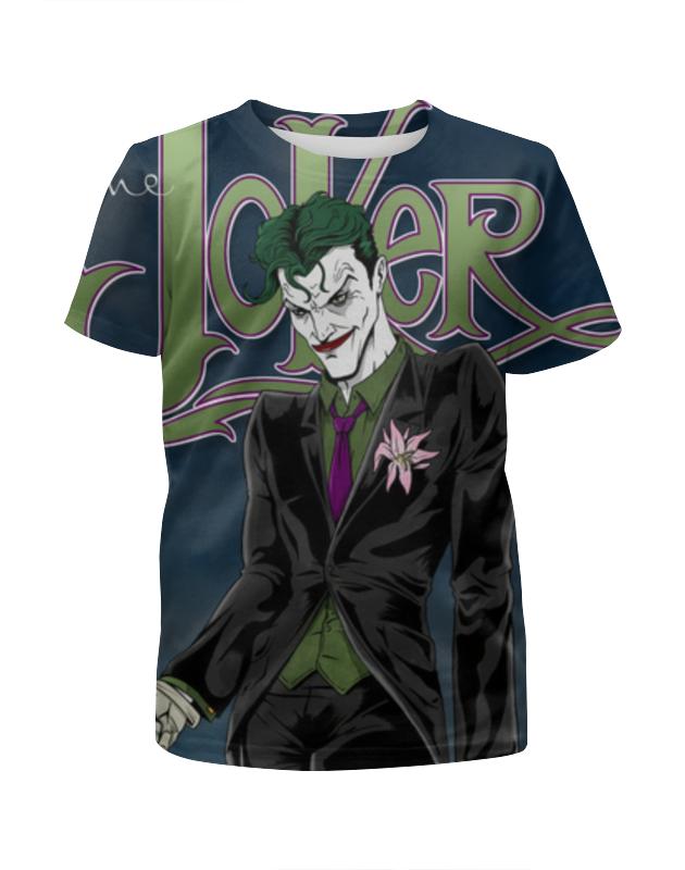 Футболка с полной запечаткой для девочек Printio Joker. джокер футболка с полной запечаткой для девочек printio joker