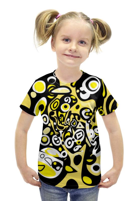 Футболка с полной запечаткой для девочек Printio Iommm50232 футболка с полной запечаткой для девочек printio пртигр arsb