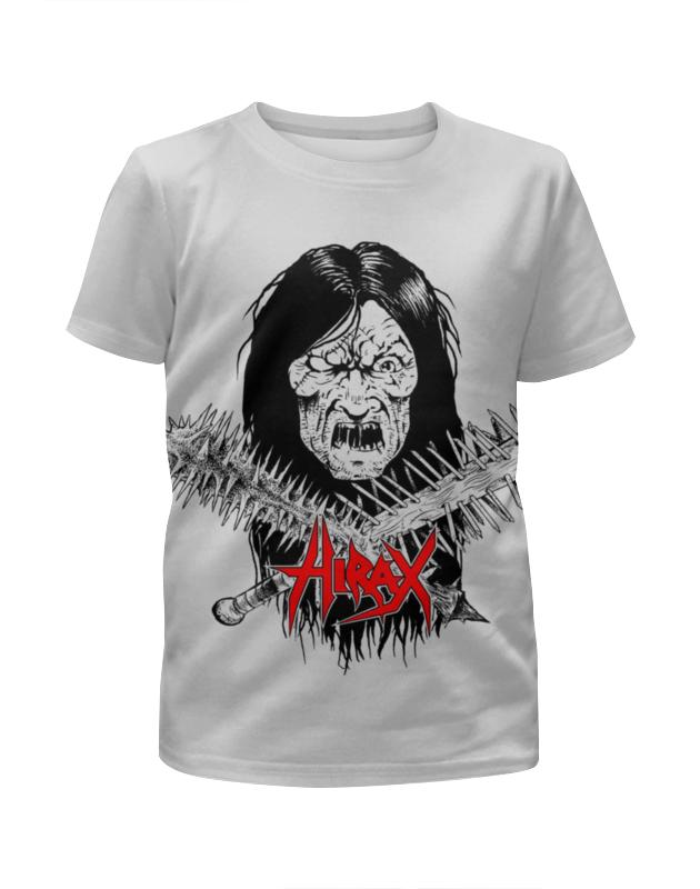 Футболка с полной запечаткой для девочек Printio Hirax band футболка с полной запечаткой для девочек printio spawn