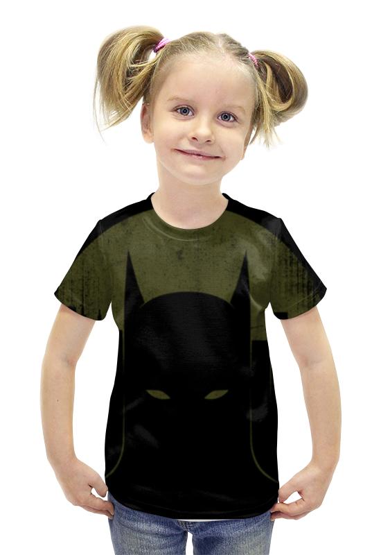 Футболка с полной запечаткой для девочек Printio Бэтмен футболка с полной запечаткой для девочек printio пртигр arsb