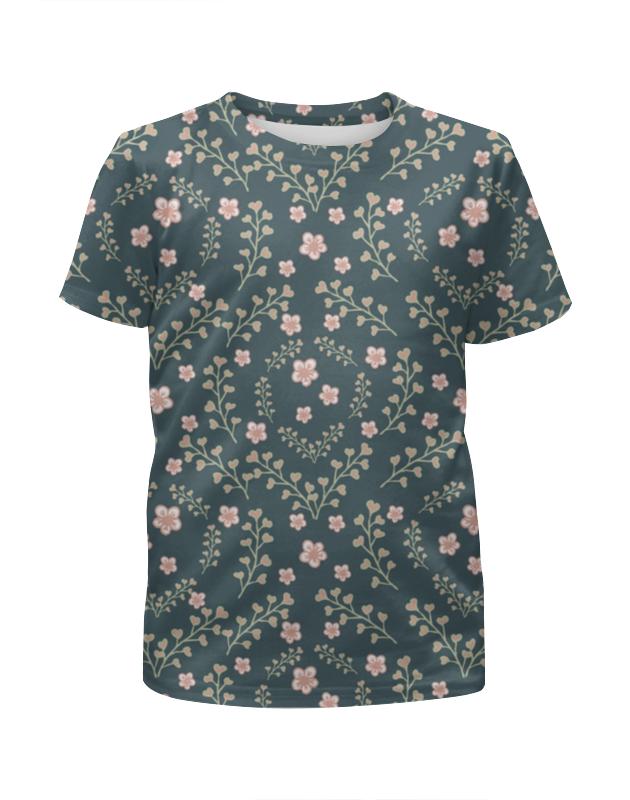 Футболка с полной запечаткой для девочек Printio Цветы полевые футболка с полной запечаткой printio цветы любви