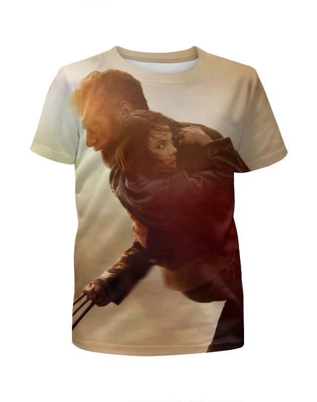 Футболка с полной запечаткой для девочек Printio Логан футболка с полной запечаткой для девочек printio росомаха wolverine логан