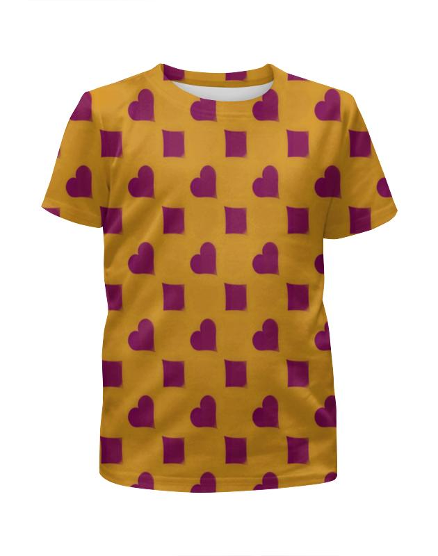 Фото - Printio Сердца и ромбы футболка с полной запечаткой женская printio ромбы