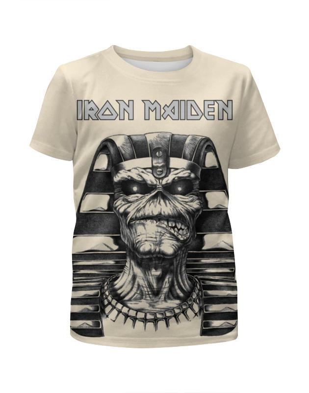 Футболка с полной запечаткой для девочек Printio Iron maiden band cd iron maiden a matter of life and death