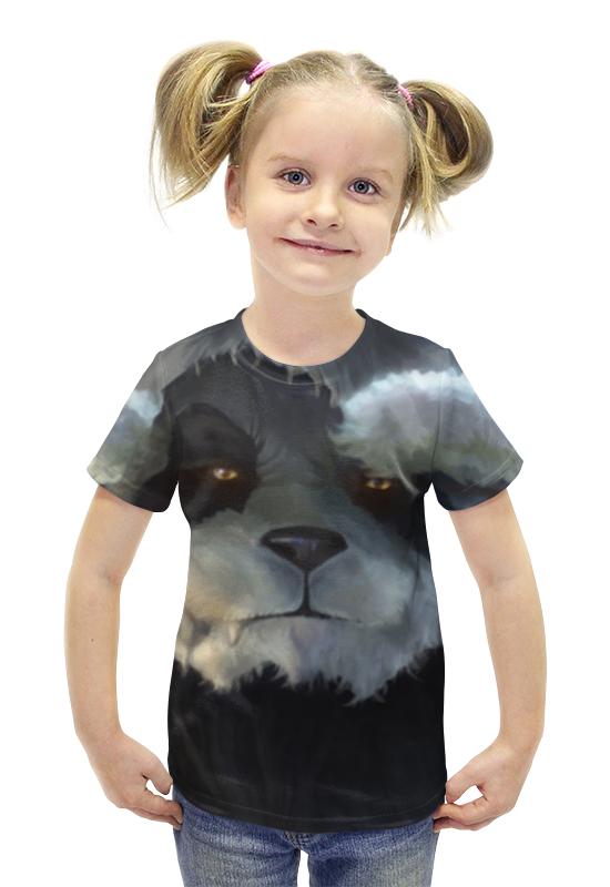 Футболка с полной запечаткой для девочек Printio Панда (panda) футболка с полной запечаткой для девочек printio панда