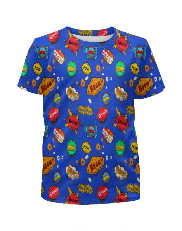 Футболка с полной запечаткой для девочек Printio Boom! футболка с полной запечаткой для девочек printio joker