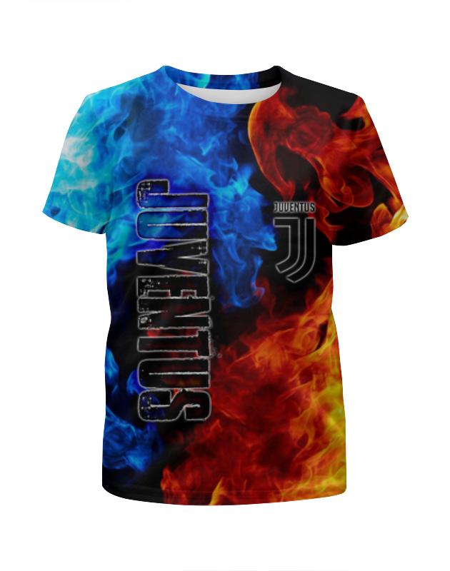 Printio Juventus sport футболка с полной запечаткой для девочек printio ювентус juventus
