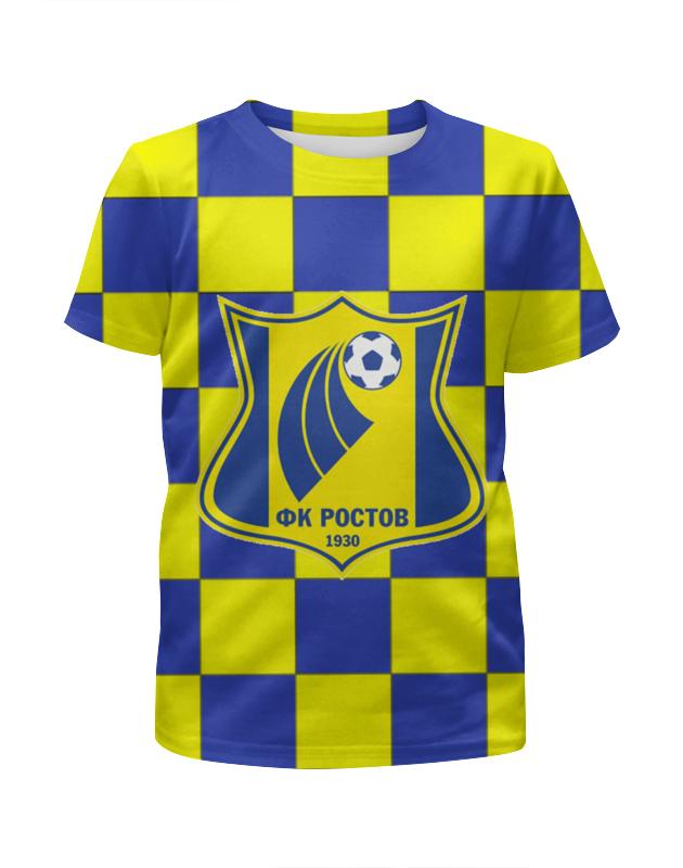 Футболка с полной запечаткой для девочек Printio Ростов пфк футболка классическая printio ростовская область ростов на дону