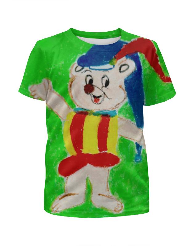 Футболка с полной запечаткой для девочек Printio Мишка flora express композиция сказочный мишка